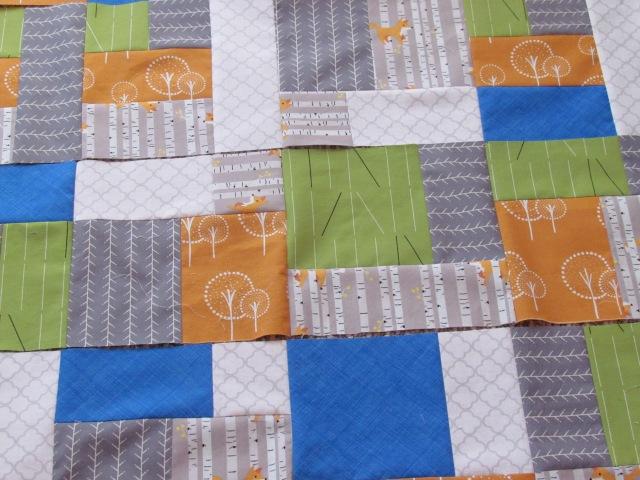 gray fox quilt